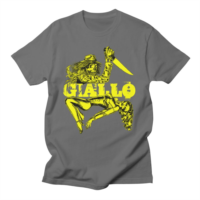 Giallo Men's T-Shirt by Nick the Hat