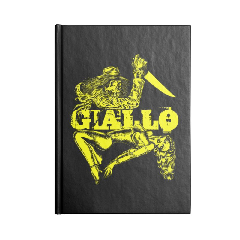 Giallo Accessories Notebook by Nick the Hat