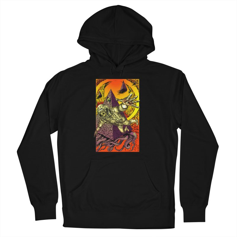 Phantasmonaut Caught in the Tentacles of a Cosmic Paradigm Women's Pullover Hoody by Nick the Hat