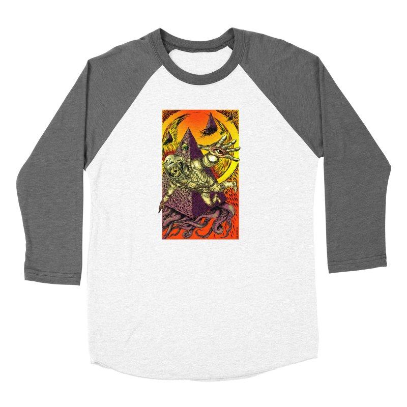 Phantasmonaut Caught in the Tentacles of a Cosmic Paradigm Women's Longsleeve T-Shirt by Nick the Hat