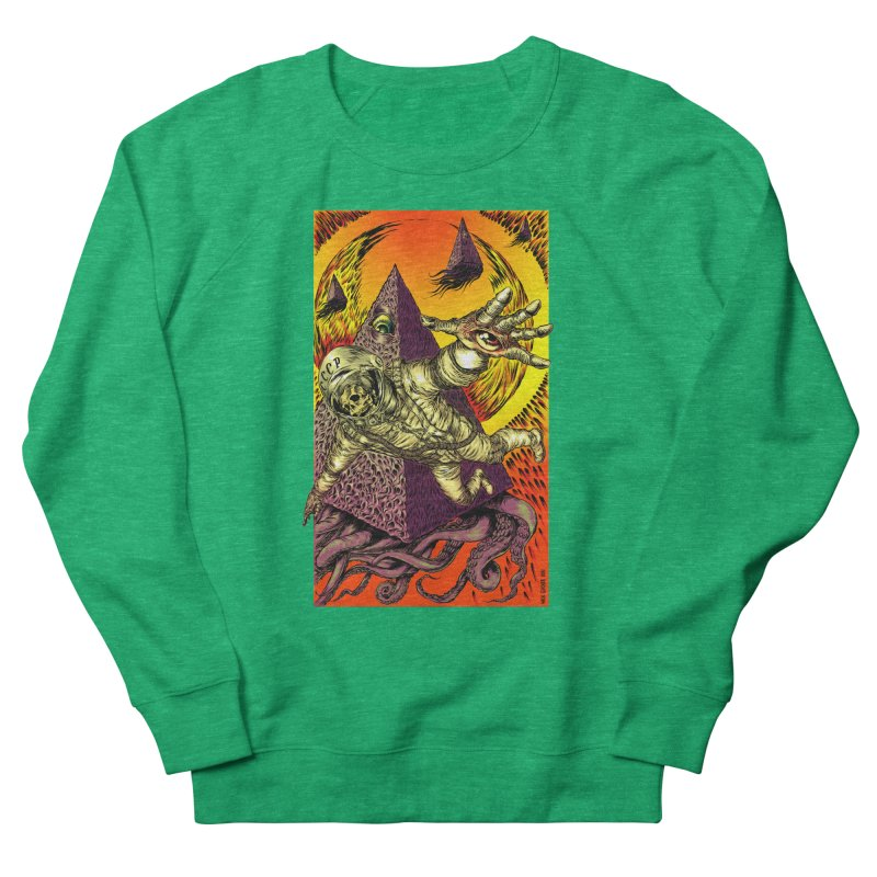 Phantasmonaut Caught in the Tentacles of a Cosmic Paradigm Women's Sweatshirt by Nick the Hat