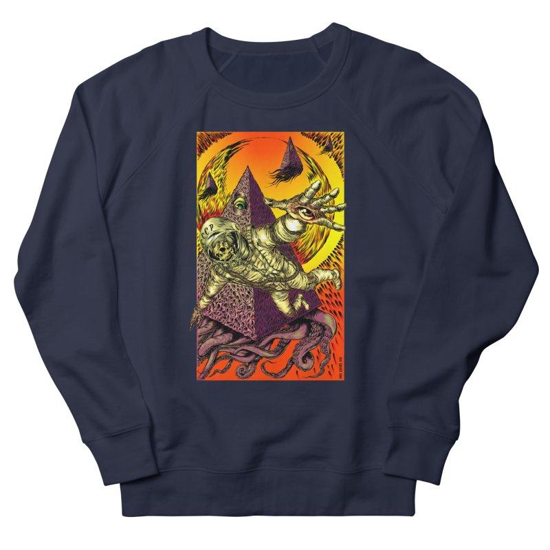 Phantasmonaut Caught in the Tentacles of a Cosmic Paradigm Men's Sweatshirt by Nick the Hat