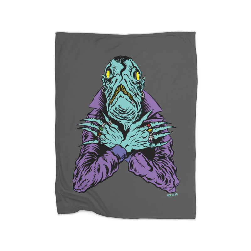 Innsmouth Goth Home Blanket by Nick the Hat