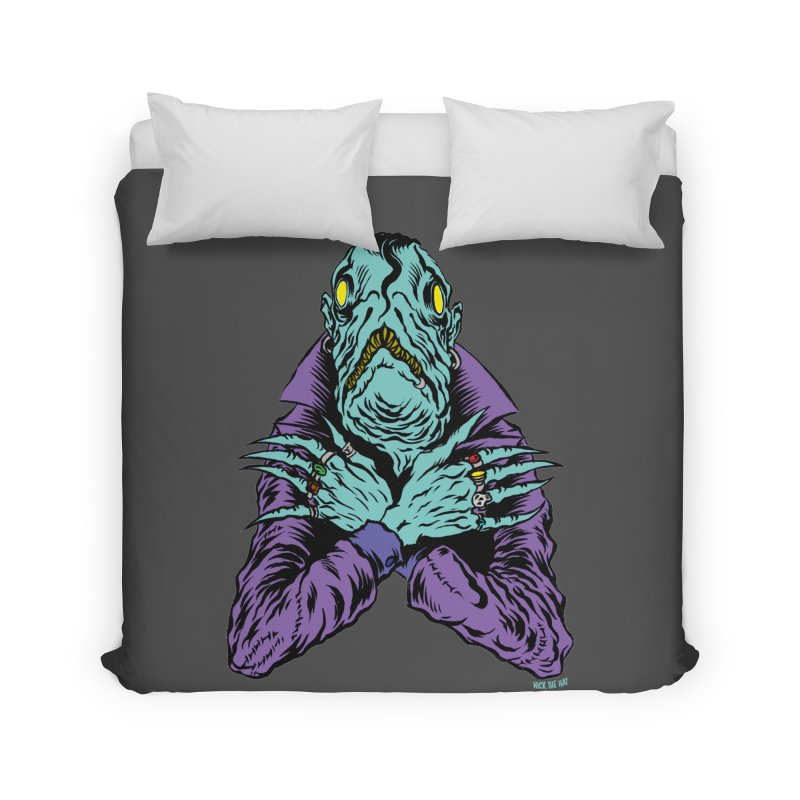 Innsmouth Goth Home Duvet by Nick the Hat