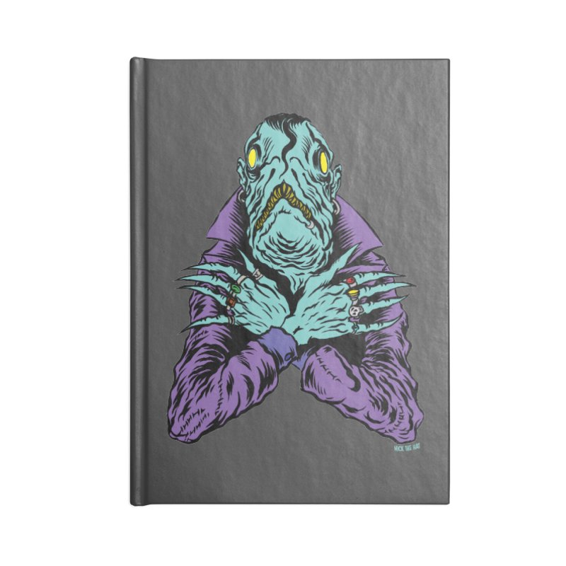 Innsmouth Goth Accessories Notebook by Nick the Hat