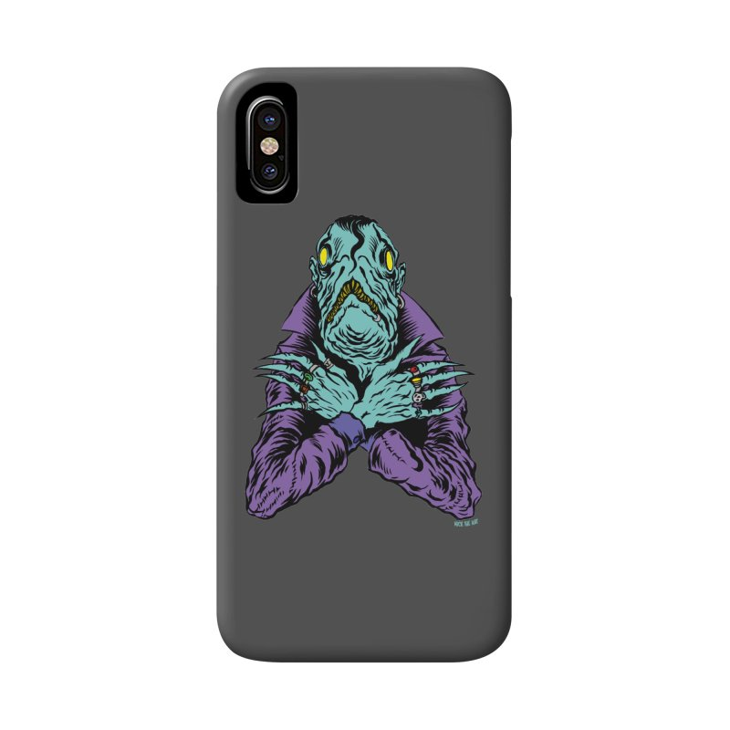 Innsmouth Goth Accessories Phone Case by Nick the Hat