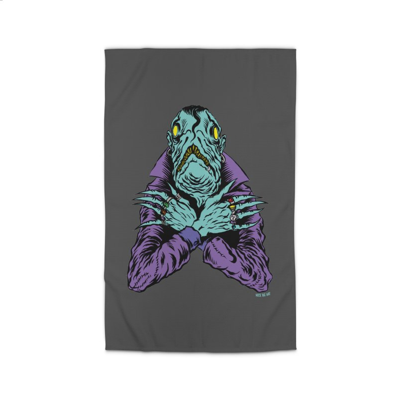 Innsmouth Goth Home Rug by Nick the Hat
