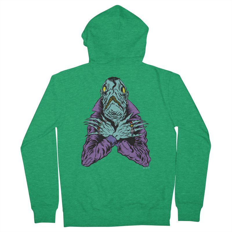 Innsmouth Goth Men's Zip-Up Hoody by Nick the Hat