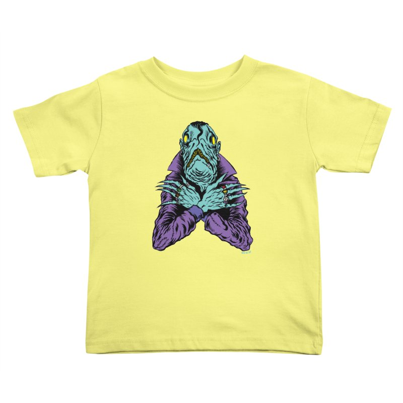 Innsmouth Goth Kids Toddler T-Shirt by Nick the Hat