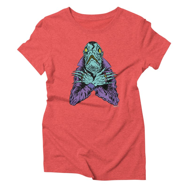 Innsmouth Goth Women's T-Shirt by Nick the Hat