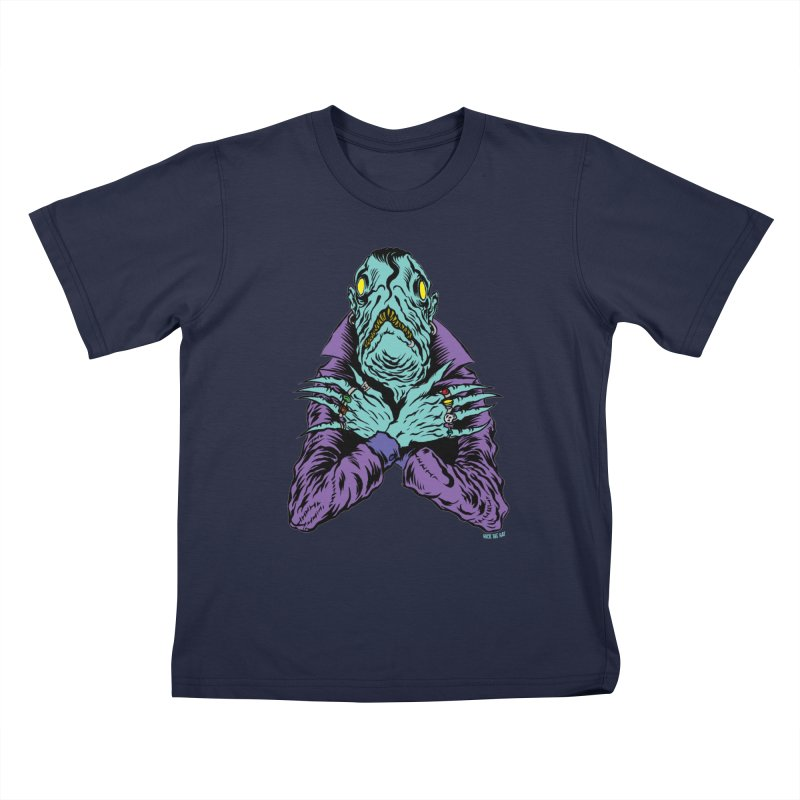 Innsmouth Goth Kids T-Shirt by Nick the Hat