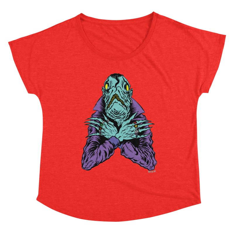 Innsmouth Goth Women's Scoop Neck by Nick the Hat