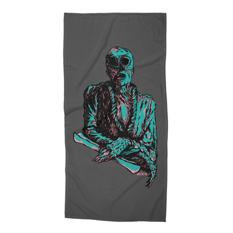 The Messenger Accessories Beach Towel by Nick the Hat