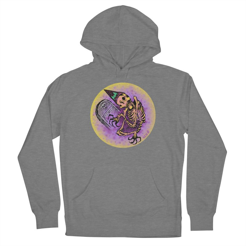 Halloween Grave Hopper Women's Pullover Hoody by Nick the Hat