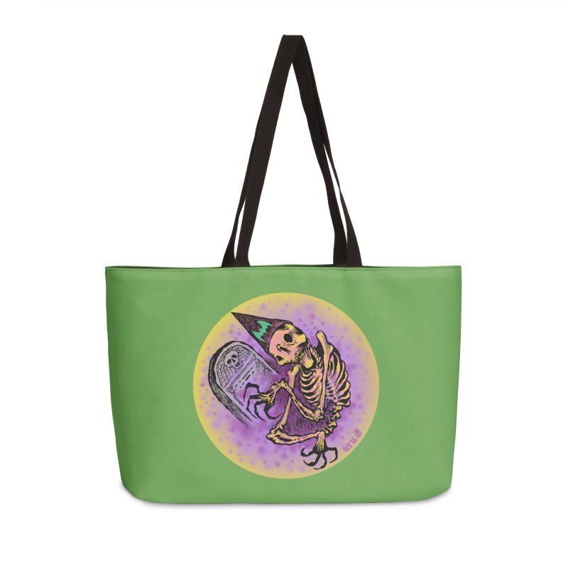 Halloween Grave Hopper Accessories Bag by Nick the Hat