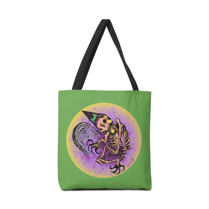 Halloween Grave Hopper Accessories Tote Bag Bag by Nick the Hat