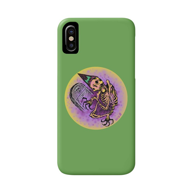 Halloween Grave Hopper Accessories Phone Case by Nick the Hat
