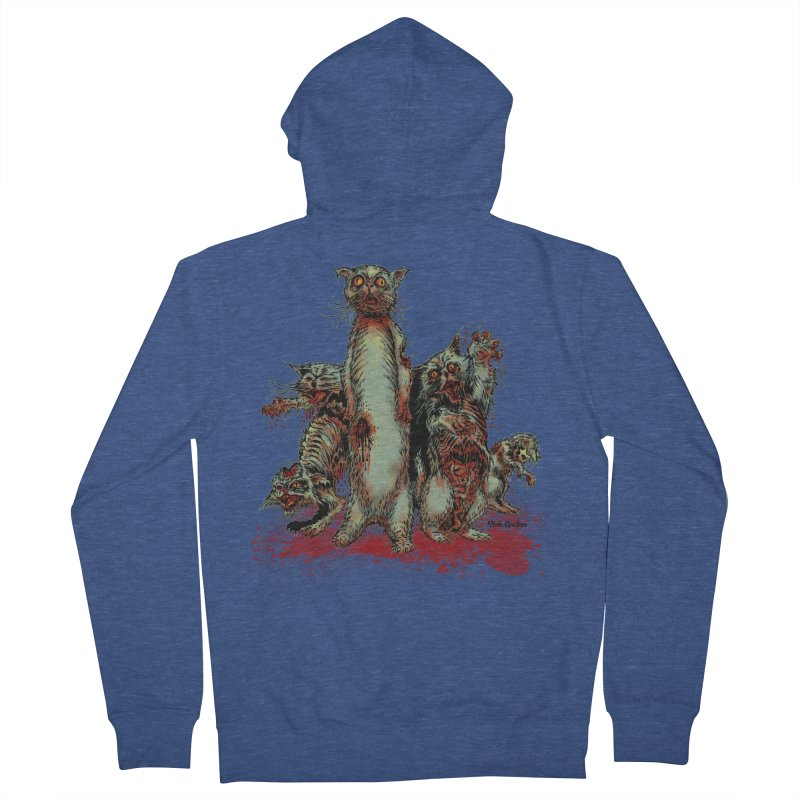 Rotten Little Animals Men's Zip-Up Hoody by Nick the Hat
