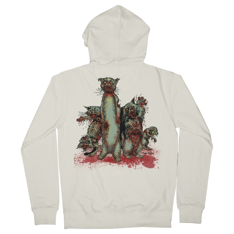 Rotten Little Animals Men's Zip-Up Hoody by Nick the Hat