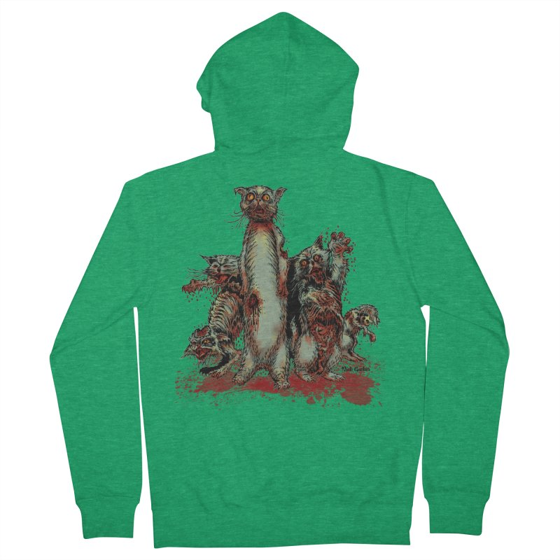 Rotten Little Animals Women's Zip-Up Hoody by Nick the Hat