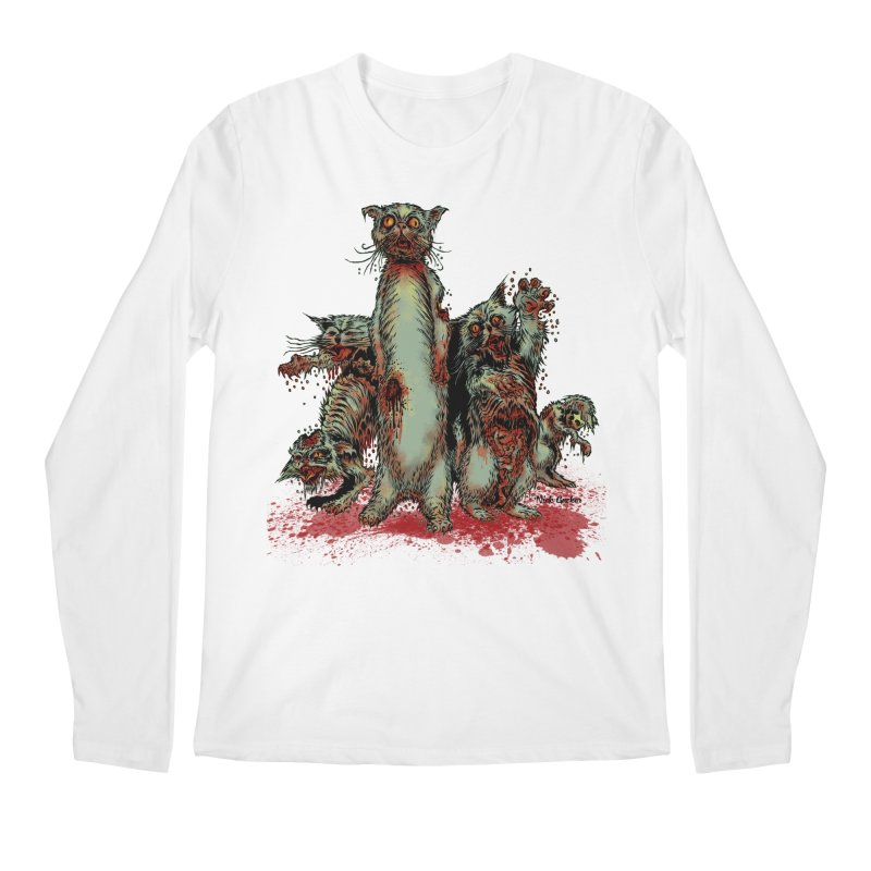 Rotten Little Animals Men's Longsleeve T-Shirt by Nick the Hat