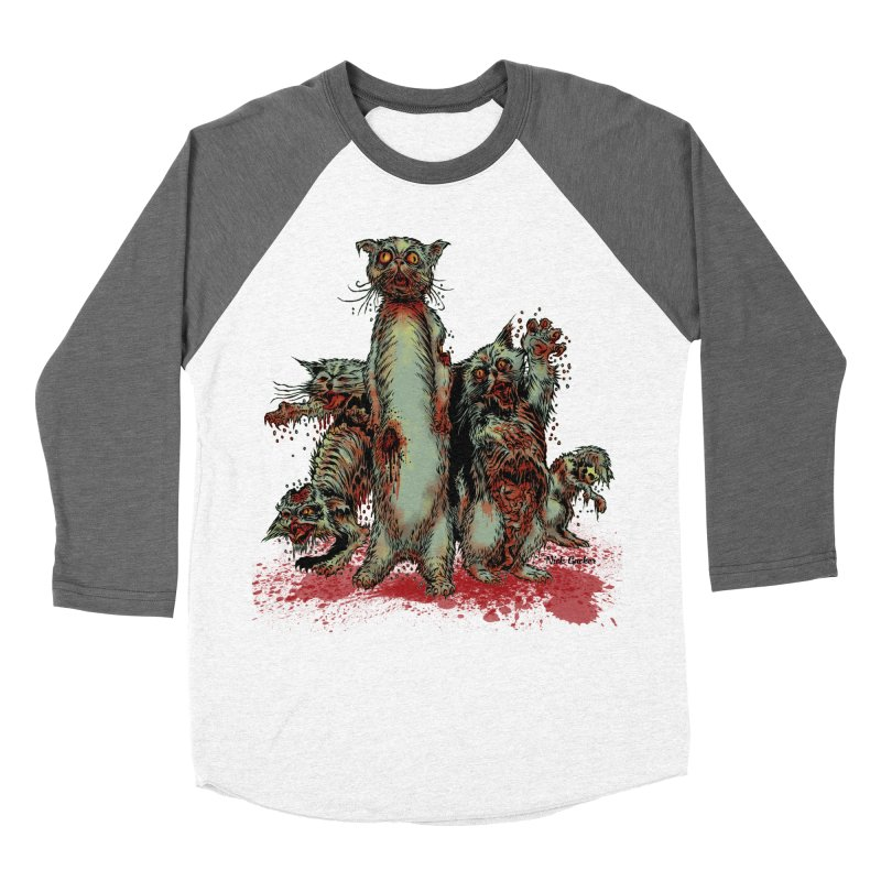 Rotten Little Animals Women's Baseball Triblend T-Shirt by Nick the Hat