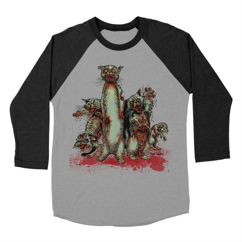 Rotten Little Animals Women's Baseball Triblend T-Shirt by Nick the Hat