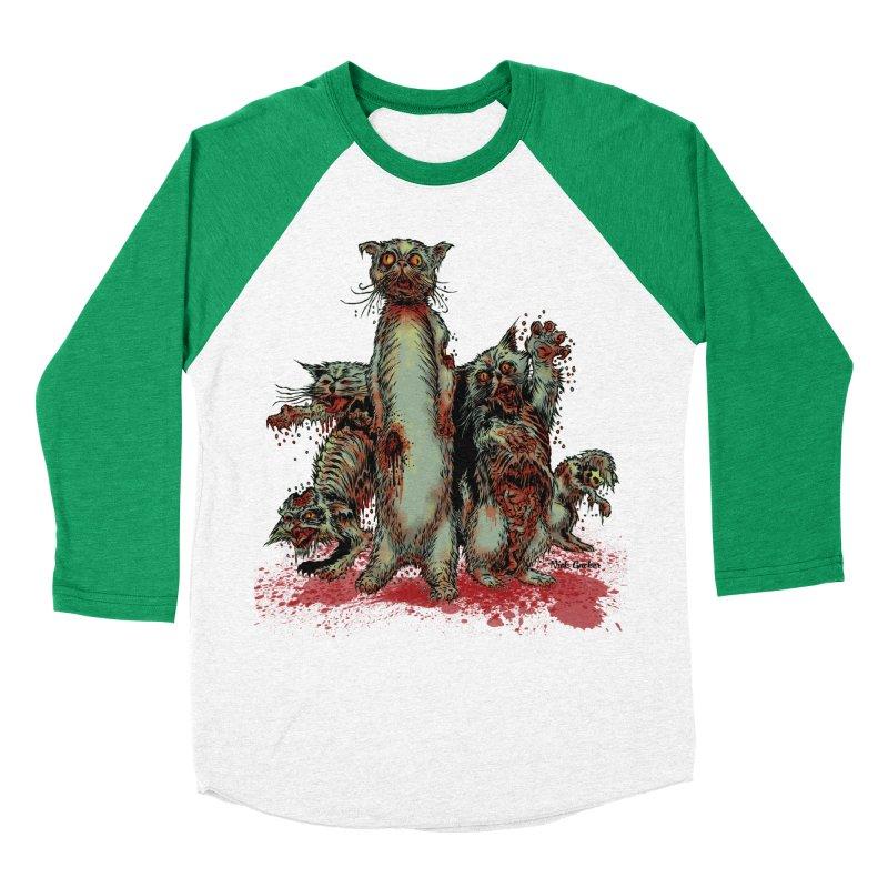 Rotten Little Animals Men's Baseball Triblend T-Shirt by Nick the Hat