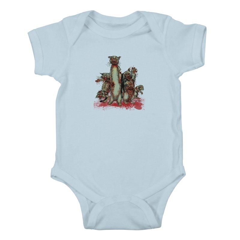 Rotten Little Animals Kids Baby Bodysuit by Nick the Hat