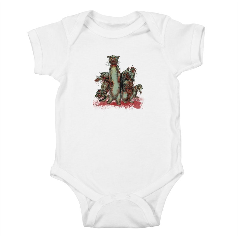 Rotten Little Animals Kids Baby Bodysuit by Nick the Hat