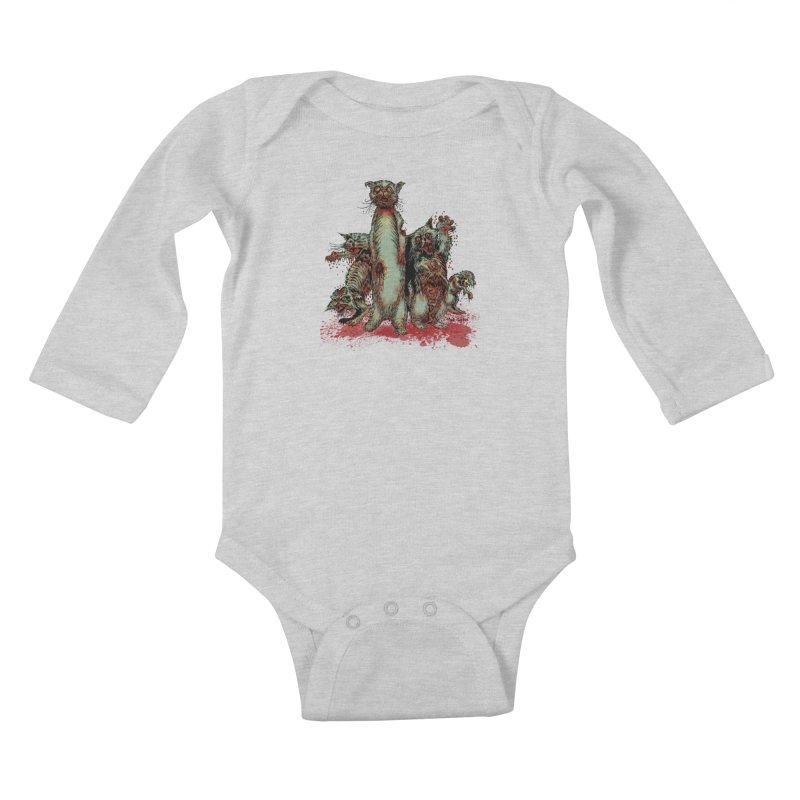 Rotten Little Animals Kids Baby Longsleeve Bodysuit by Nick the Hat