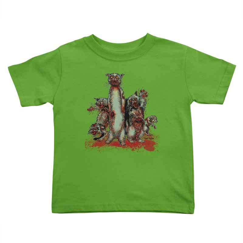 Rotten Little Animals Kids Toddler T-Shirt by Nick the Hat