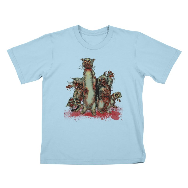 Rotten Little Animals Kids T-Shirt by Nick the Hat