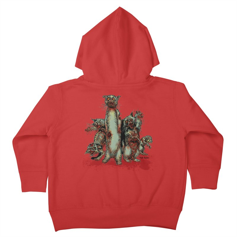 Rotten Little Animals Kids Toddler Zip-Up Hoody by Nick the Hat