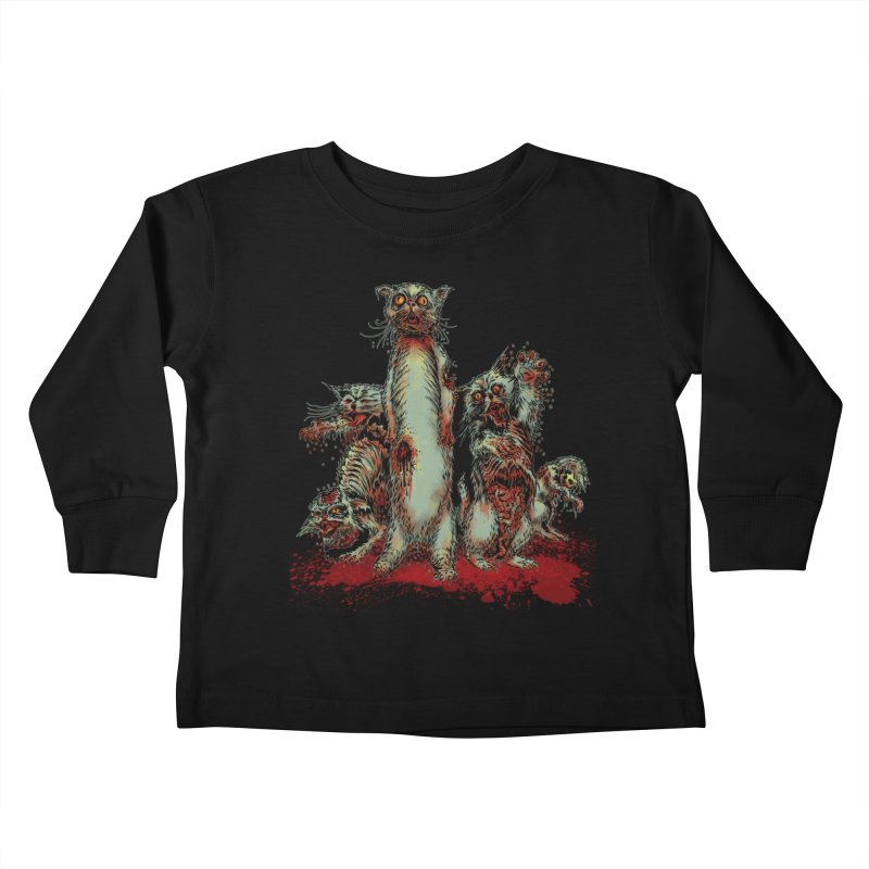 Rotten Little Animals Kids Toddler Longsleeve T-Shirt by Nick the Hat