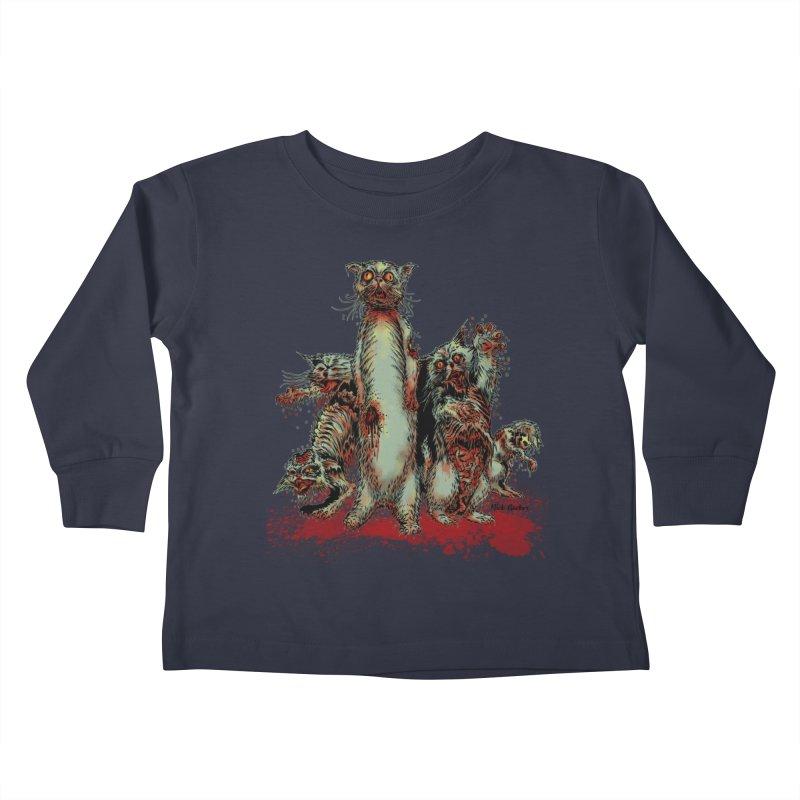 Rotten Little Animals Kids Toddler Longsleeve T-Shirt by Nick the Hat