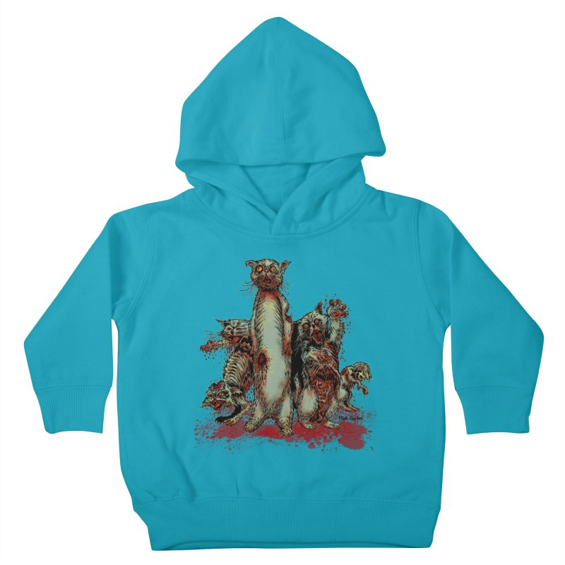 Rotten Little Animals Kids Toddler Pullover Hoody by Nick the Hat
