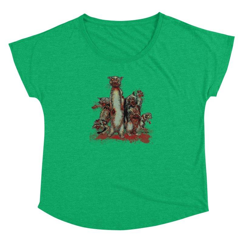 Rotten Little Animals Women's Dolman by Nick the Hat