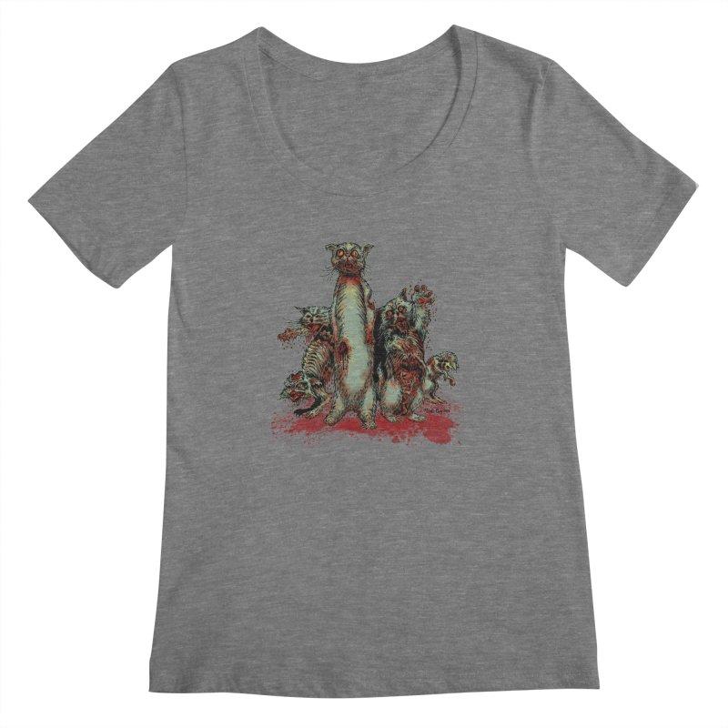 Rotten Little Animals Women's Scoopneck by Nick the Hat