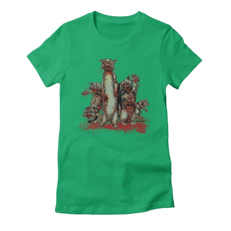 Rotten Little Animals Women's T-Shirt by Nick the Hat