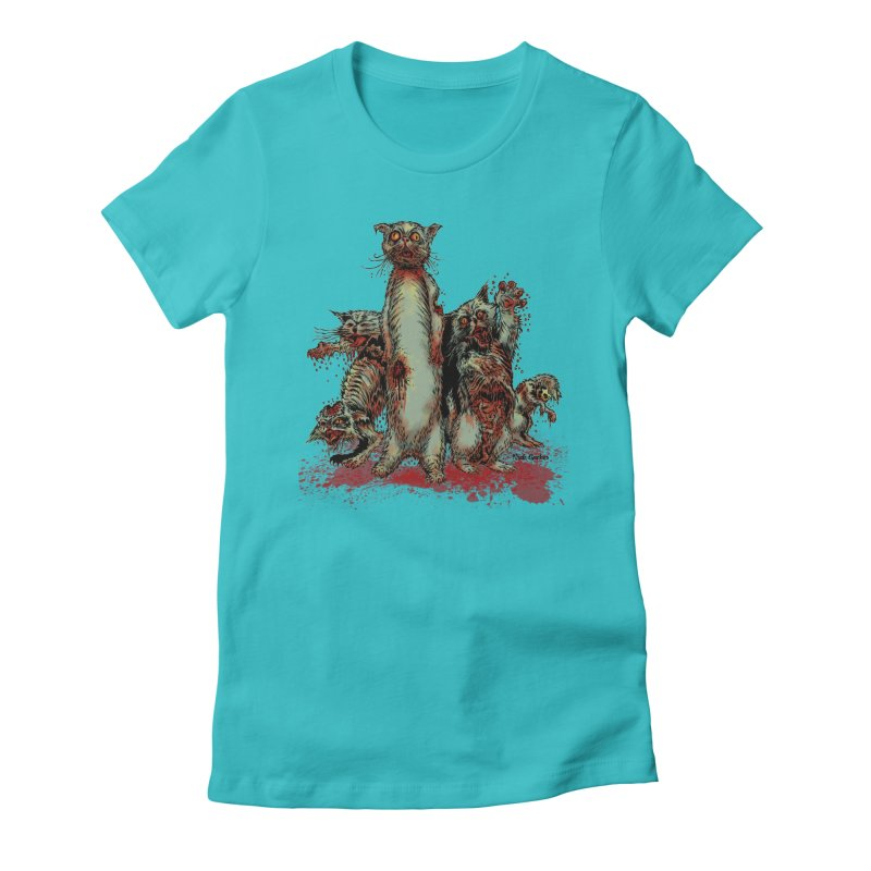 Rotten Little Animals Women's T-Shirt by Nick the Hat