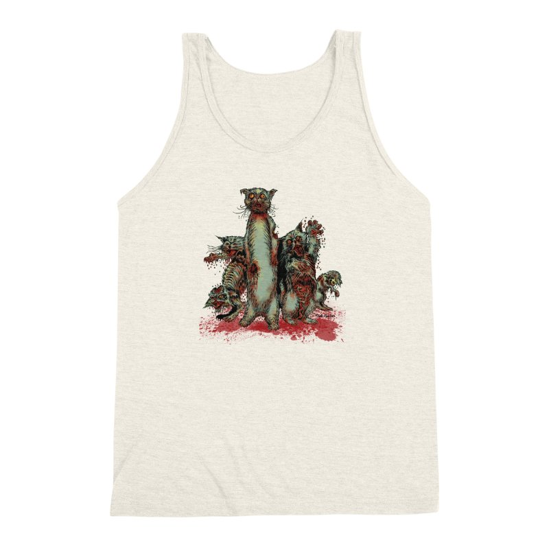 Rotten Little Animals Men's Triblend Tank by Nick the Hat