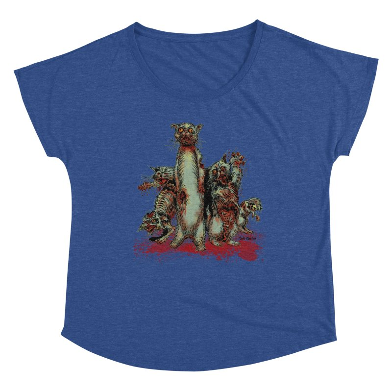 Rotten Little Animals Women's Scoop Neck by Nick the Hat