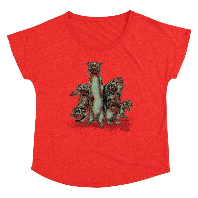Rotten Little Animals Women's Scoop Neck by Nick the Hat