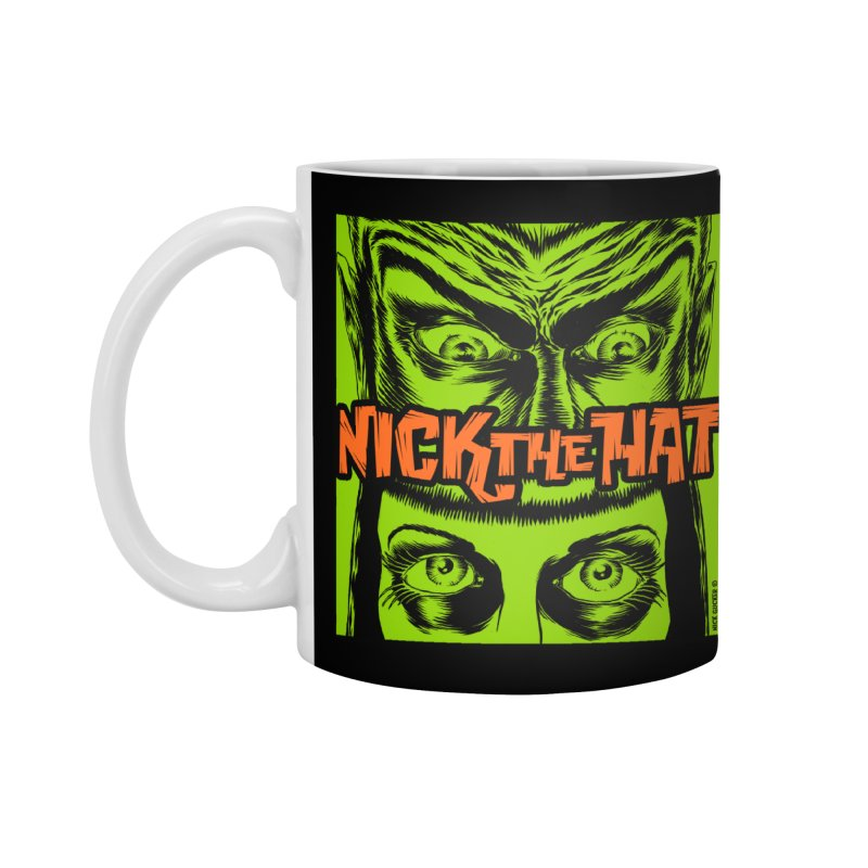 "Nick the Hat ""Sinister Eyes"" Accessories Mug by Nick the Hat"