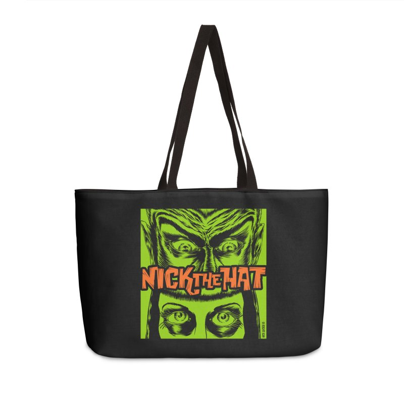 """Nick the Hat """"Sinister Eyes"""" Accessories Bag by Nick the Hat"""