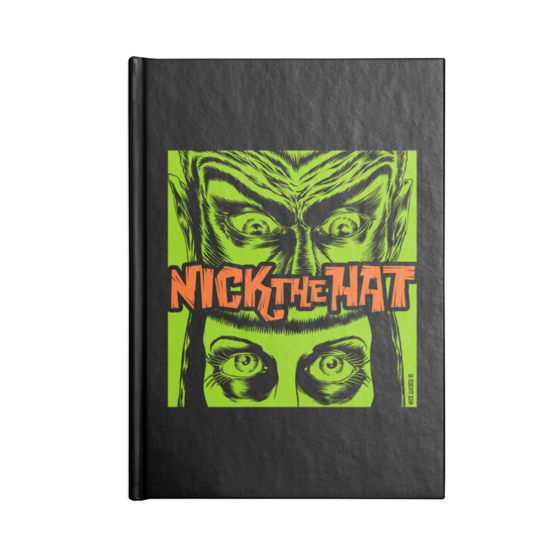 """Nick the Hat """"Sinister Eyes"""" Accessories Notebook by Nick the Hat"""