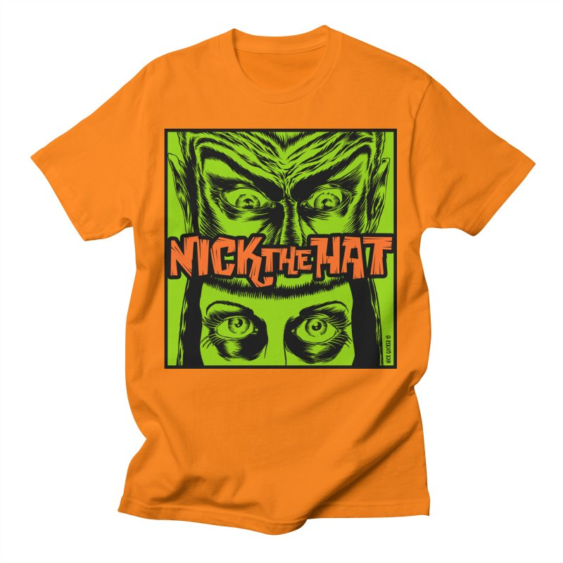 """Nick the Hat """"Sinister Eyes"""" Men's T-Shirt by Nick the Hat"""