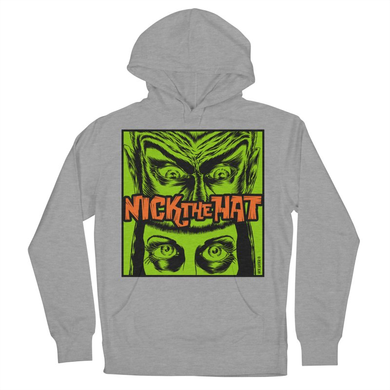 "Nick the Hat ""Sinister Eyes"" Men's Pullover Hoody by Nick the Hat"