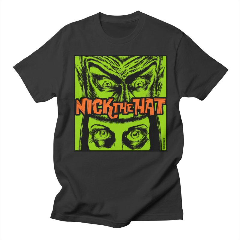 "Nick the Hat ""Sinister Eyes"" Men's T-Shirt by Nick the Hat"